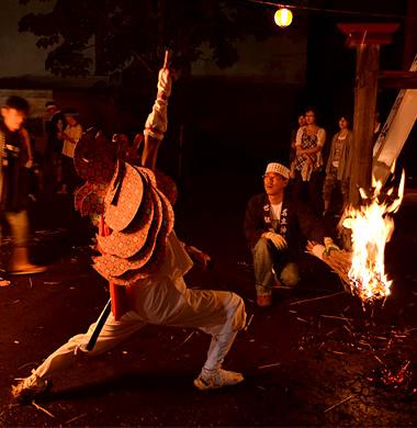 名立神社例大祭(桑名川地区)